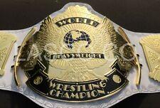 WWF WINGED EAGLE HEAVYWEIGHT WRESTLING CHAMPIONSHIP WHITE STRAP BELT