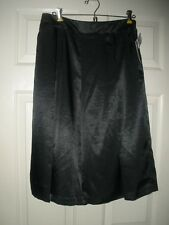 #752 ROBERT RODRIGUEZ Black Waisted Pencil Skirt Skort Shorts Lacy MRSP $89