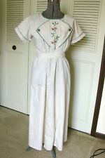 New listing Edwardian Dress Front Or Full Apron