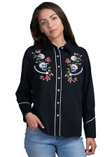 Benny's Womens Day of the Dead Western Shirt