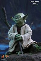 Hot Toys 1/6 Star Wars EPIV The Empire Strikes Back MMS369 Yoda Action Figure