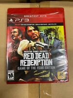 Red Dead Redemption - Game of the Year Edition (Sony PlayStation 3, 2011) NEW