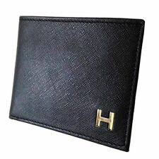 New Tommy Hilfiger Men's Leather Credit Card ID Billfold Passcase Wallet