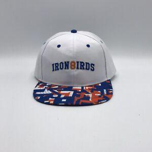 Aberdeen IronBirds White Baseball Minor Hat Cap Iron Birds SnapBack Adjustable