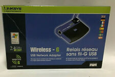 Linksys Wireless G USB Network Adapter - 2.4GHz - 802.11g - Model WUSB54G