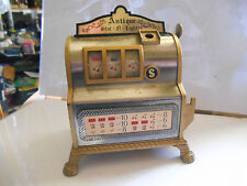 briquet jack pot slot machine  lighter waco  japan tin toy  tole machine a sous