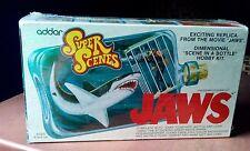 RARE JAWS Super Scenes  model kit Sealed 1975