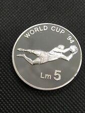 More details for 5 liri 1993 malta proof silver