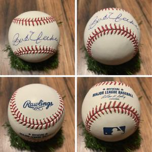 Bob Uecker Autographed Signed Baseball Rawlings OMLB Milwaukee Brewers MINT
