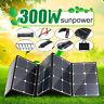 300W Sunpower Doppel USB Faltbar Solar Panel Ladegerät Akku Für Handy Camping
