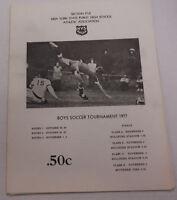 New York State Public High School Soccer Tournament 1977 100214R1
