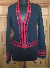 dELiA*s Navy Blue Red Jacket - Size Large - Long Sleeve