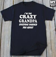 Grandpa T-Shirt Funny Fathers Day Tee Grandpa Gifts Grandfather Birthday Shirt