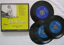 At The Piano Del Wood Plays Rag Time Favorites Vol 1 45rpm Box Set Tennessee 400