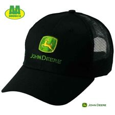 GENUINE John Deere Mesh Baseball Cap| Black| FREE P&P