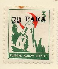 Turkey 1950-52 Early Issue Fine Mint Hinged 20p. Surcharged 085930