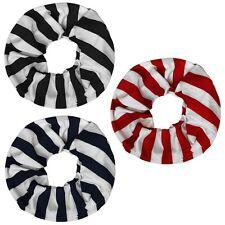 1 Loopschal Streifen rot schwarz marine Schal Halstuch Loop gestreift