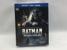 Batman: Gotham by Gaslight Blu-ray/DVD, 2018, 2-Disc Set new free shipping