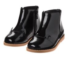 bc5cb74cfd15 Gymboree Tails of the City Black Patent Ankle Boots Toddler Girls Shoes  Size 5