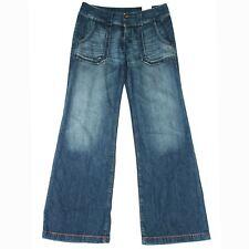 NUOVO Donna Moda 87 C BLU DIESEL Denim Jeans Boot Cut W33 L33 RRP £ 85