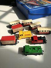Matchbox Vintage train and carriage set rare. Mine since new. Mint.