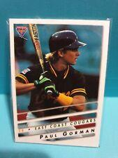 Paul Gorman 1995 Futera East Coast Cougars Australian Baseball Card🏆FREE POST