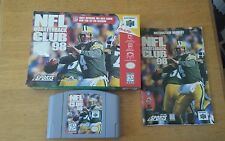 NFL Quarterback Club 98, COMPLETE (Nintendo 64, 1997)