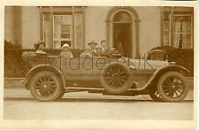 RA125 Early RP POSTCARD Darracq 10-12 Vintage Car/Voiture Ancienne - 1920s