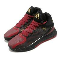 adidas D Rose 11 XI Derrick CNY Year of The Ox 2021 Black Red Gold Men FY3444