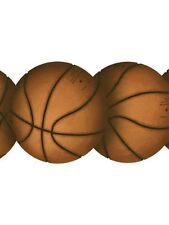 Laser Cut Basketball / Basketballs Sports Sure Strip Wallpaper Border BT2863B