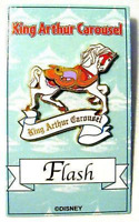 Disney Pin 18584 DLR King Arthur Carousel Horse Fantasyland Disneyland CA