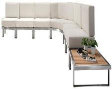 Lounge-Sitzgruppe Gartensofa Gartenbank XXL Eck-Lounge Poseidon Polster Sitzecke