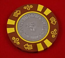 Palm Casino $5 House Chip San Juan Puerto Rico Blackjack Poker Craps COIN CENTER