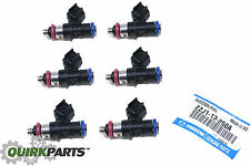 Mazda 6 CX-9 V6 Fuel Injectors Set Of 6 ZZJ1-13-250A OEM