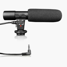 Professional Shotgun Condenser D-SLR Camera Microphone for Canon, Nikon MIC