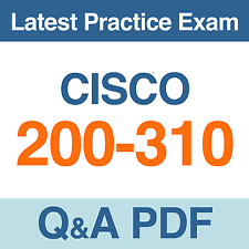 Designing for Cisco Internetwork Solutions Practice Test 200-310 Exam Q&A PDF