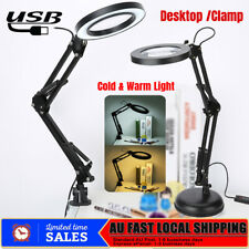 5X Magnifying Lamp Desk Table Beauty Nail Salon Tattoo 360° Magnifier Light AU