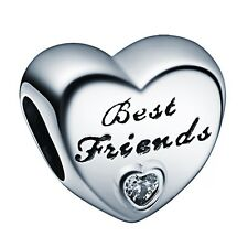 Fashion Gift Bead for Friends 925 Sterling Silver Charms Fit European Bracelet