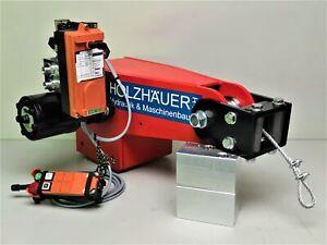 Hydraulische Seilwinde HAW1700 mit elektrischem Ventil und Funkfernsteuerung