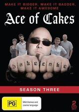 Ace Of Cakes : Season 3 (DVD, 2013, 2-Disc Set) Region 0