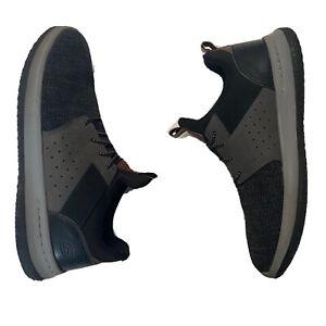 Skechers Delson Camben Shoes Men's US 11 UK 10 EUR 45 Black Gray No Inserts VGUC