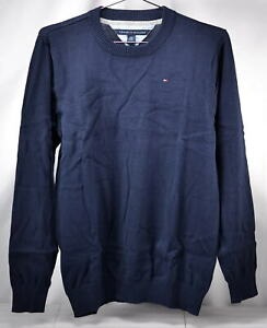 Youth Boy's Tommy Hilfiger Alan Crew Neck Sweater in Navy