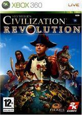 SID MEIER'S  CIVILIZATION REVOLUTION        -----   pour X-BOX 360