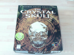 the crystal skull USED BIG BOX EDITION        &      aurora watching NEW&SEALED