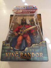 Masters Of The Universe Classics KING RANDOR first release 2009 MOC MOTUC HE-MAN