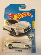 NEW Hot Wheels #175 Factory Fresh #6/10 TESLA Model S white FREE SHIPPING