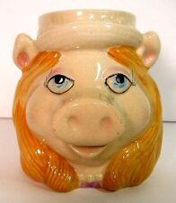 Jim Henson Muppets Miss Piggy Ceramic Coffee Mug Sigma The Tastesetter Vintage