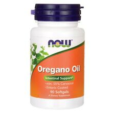 Now Foods Oregano Oil 90 Softgels Healthy Intestinal Flora Balance