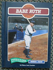 VINTAGE BASEBALL LEGENDS BABE RUTH BOOK NEW YORK YANKEES RARE