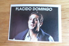 PLACIDO DOMINGO  EDICIONES EYDER SUPER MUSICAL CARD #136 1984
